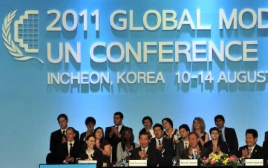 Model U.N. creates goodwill ambassadors to Korea