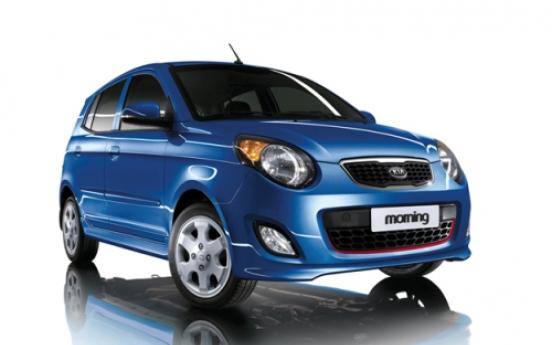 Kia, GM Korea vie for city car sales