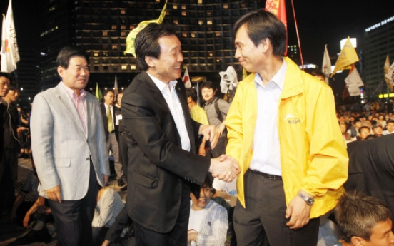 Sohn proposes unified candidate