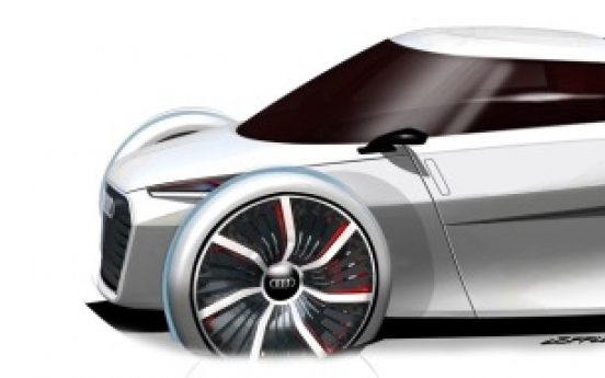 Audi reveals ultra-light urban concept car