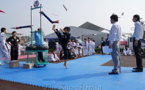 Chungju to throw martial arts bash