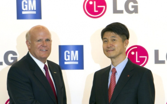 LG, GM join hands to build electric cars