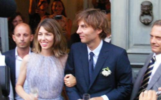 Director Sofia Coppola weds in southern Italy