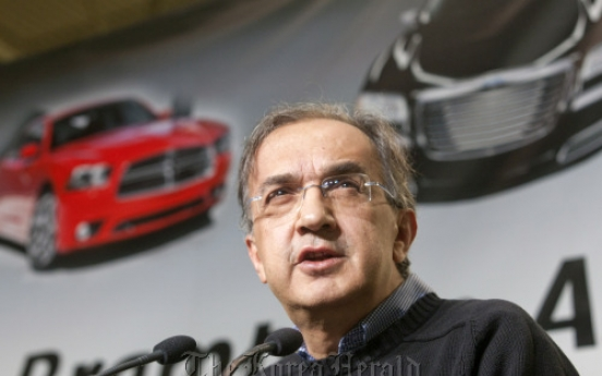 Fiat's Marchionne becomes Chrysler chairman