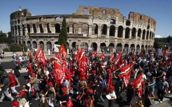 Italy Senate OKs austerity plan