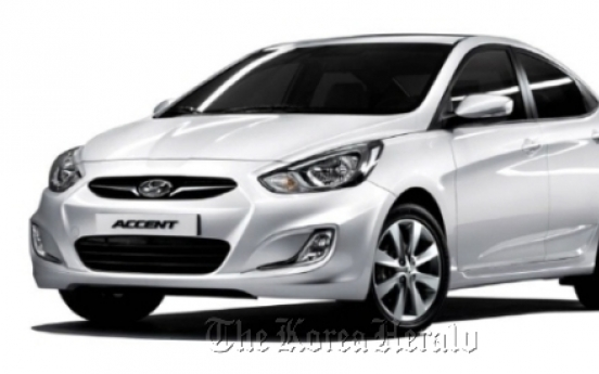 Hyundai launches new fuel-efficient Accent 'Blue Saver'