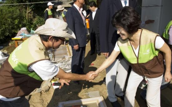 Korea Hands redecorates remote houses