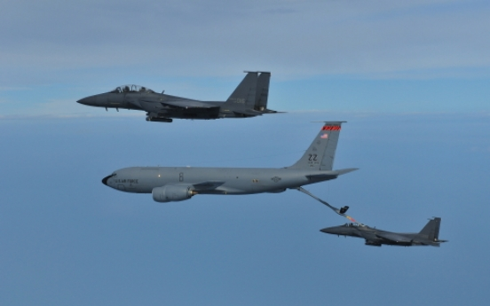 S. Korea, U.S. conduct refueling exercise