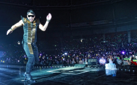 Rain completes last concert tour before his military service begins