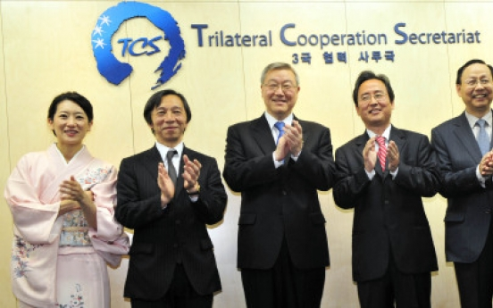Trilateral secretariat officially opens in Seoul