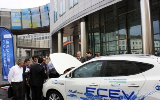 Hyundai SUV picked as testbed for European fuel cell undertaking