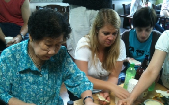 Chance to share with Korean 'comfort women'
