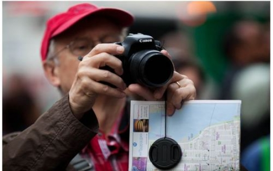 Occupy Wall Street becomes NYC tourist stop