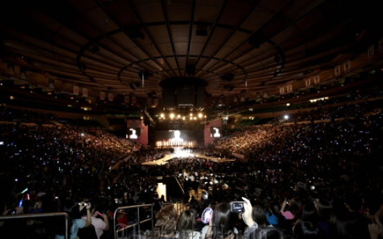 SM Town wraps up world tour in N.Y.