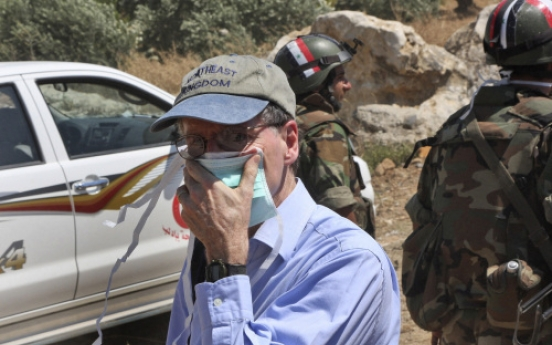 U.S. pulls envoy out of Syria, citing safety