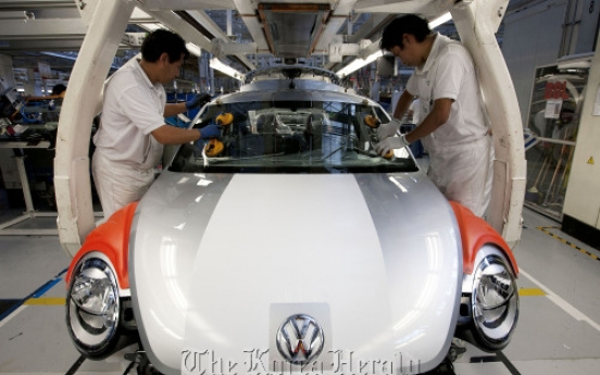 Volkswagen to become world's top carmaker
