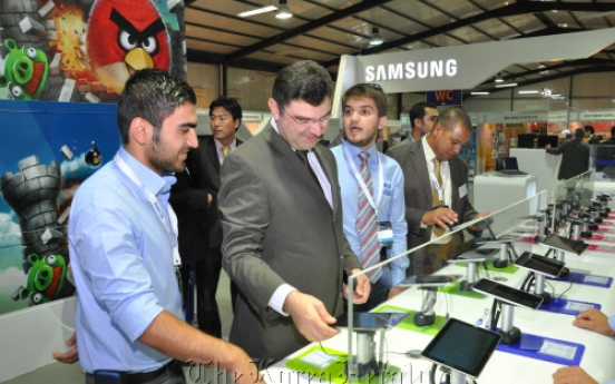 Samsung, LG showcase new products in Iraq show