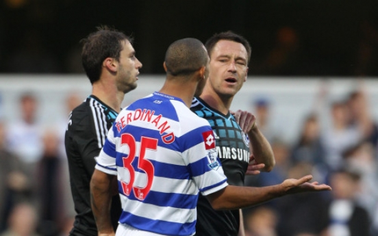 English soccer, police investigate captain Terry over racist slurs