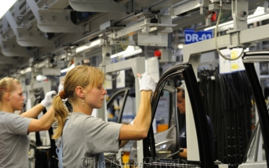 Hyundai's car production helps economy in Czech Republic