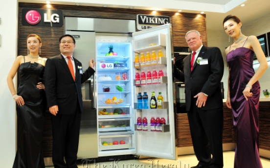 LGE targets built-in home appliance market