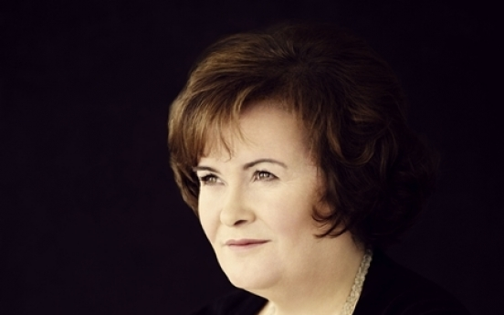 Susan Boyle aims for variety