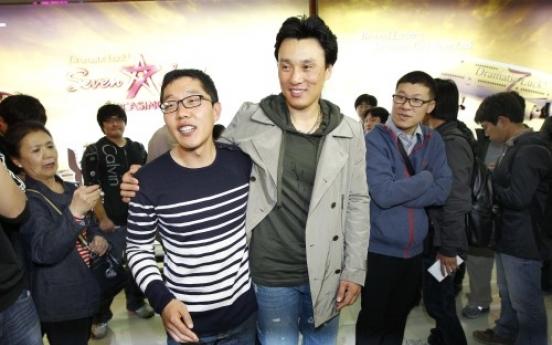 S. Korean slugger Lee returns home for good