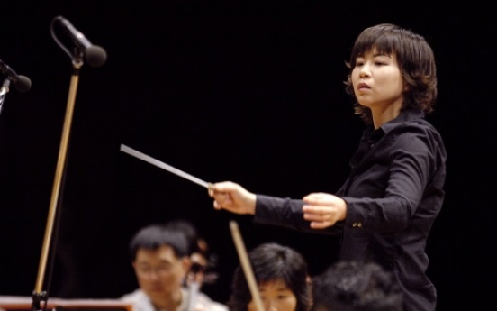 Conductor finds hope in young Korean musicians
