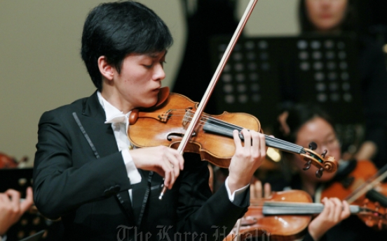 Taiwanese violinist tops Isang Yun Competition