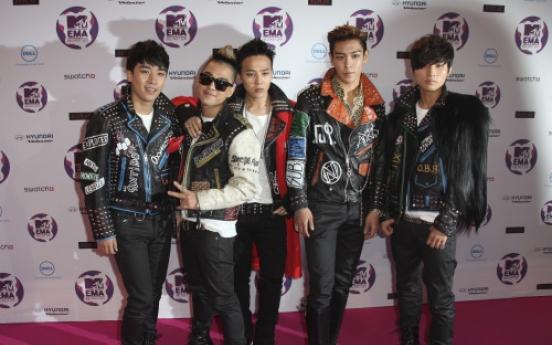 Big Bang wins Best Worldwide Act