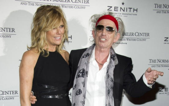 Book prize for 'distinguished' Keith Richards