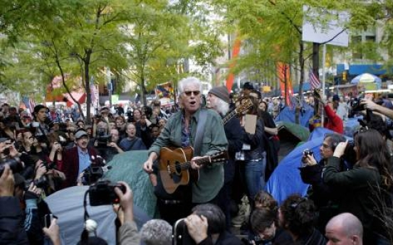 New generation of music central to Occupy protest