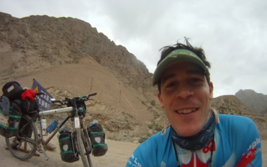 Cyclist to pedal two Americas for charity