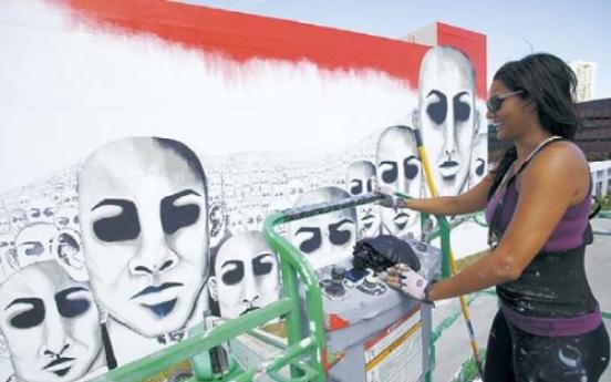 Miami Beach getting ready for Art Basel Dec. 1-4