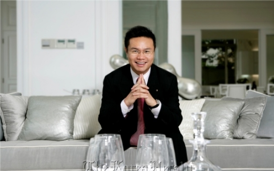 [Herald Interview] Chinese young chairman plans to make golf World Cup success