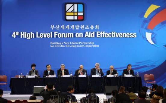 BRICs boost global aid partnership