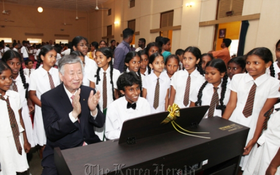 Booyoung supports education in Sri Lanka, East Timor