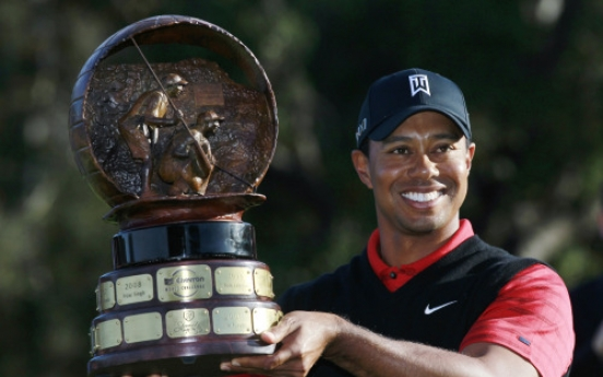Tiger Woods ends 2-year victory drought