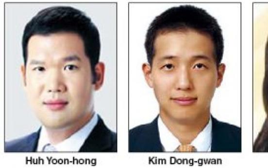 Chaebol scions climb toward top management