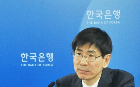 BOK cuts 2012 growth forecast to 3.7 percent
