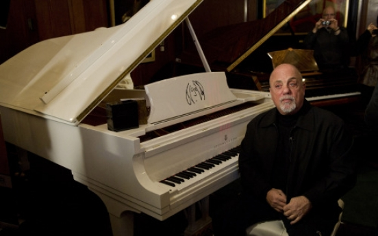 Billy Joel gets portrait at NYC's Steinway Hall