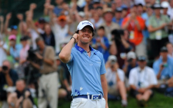 Rory McIlroy arrives on world stage in 2011
