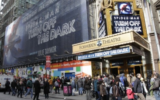 Broadway's 'Spider-Man' musical earns new record