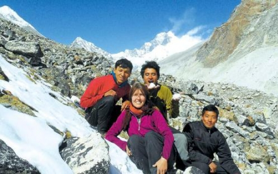 Like walking? Try the Himalayan range, all of it