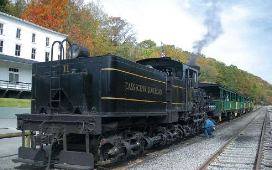 Ride the Cass Scenic Railroad in West Virginia