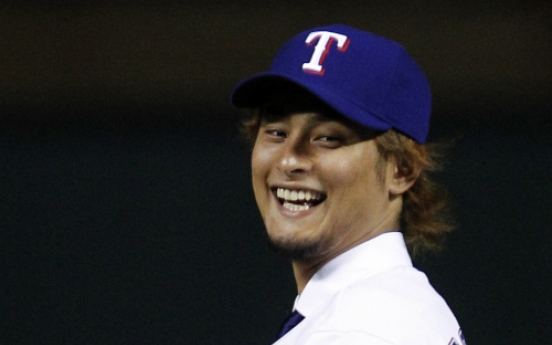 Darvish wants to be top pitcher in the world