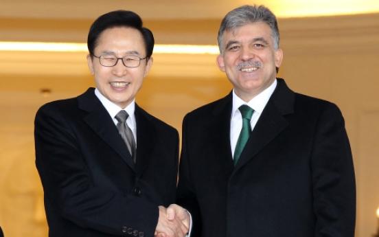 Korea, Turkey agree to resume nuke plant talks