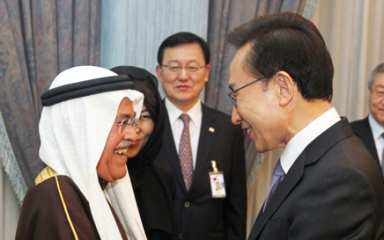 Saudi oil minister pledges Seoul stable crude supply
