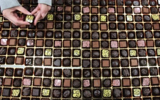 Chocolate's a challenge for gardening Valentines