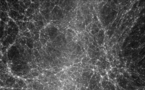 Missing dark matter located in space