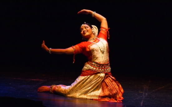 'Odissi' of Indian dance in Korea